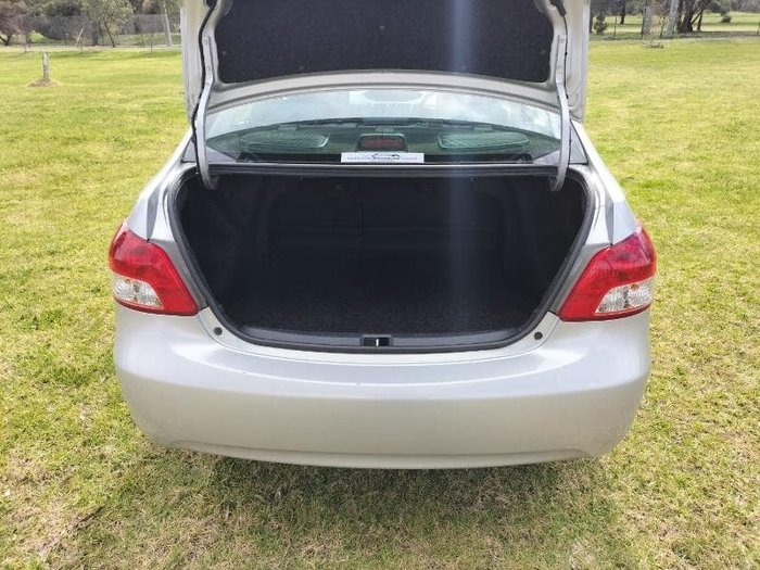 2009 Toyota Yaris YRS NCP93R MY09 Quick Silver