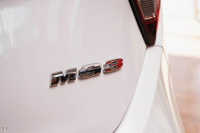 2021 MG MG3 Core (Nav) MY21 Drive Type: Dover White