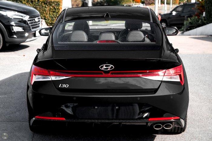 2021 Hyundai i30 N Line Special Edition CN7.V1 MY21 Black