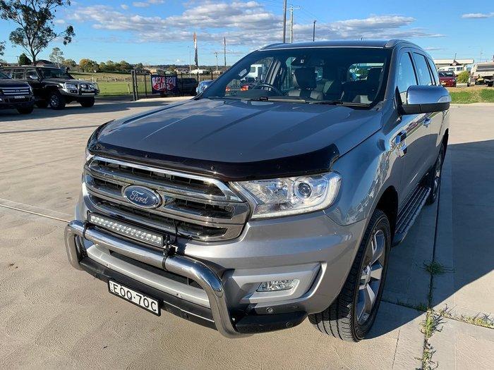 2017 Ford Everest Titanium UA 4X4 Dual Range Silver