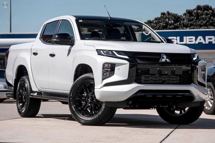 2021 Mitsubishi Triton GSR MR MY21 4X4 Dual Range White