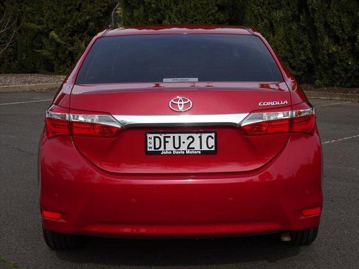 2016 Toyota Corolla SX ZRE172R Red