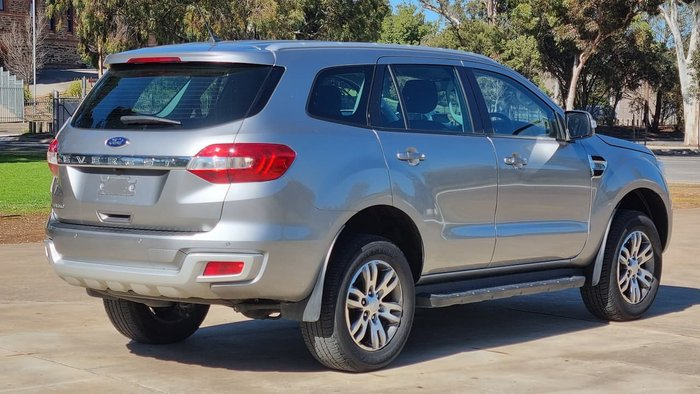 2017 Ford Everest Trend UA MY18 Silver