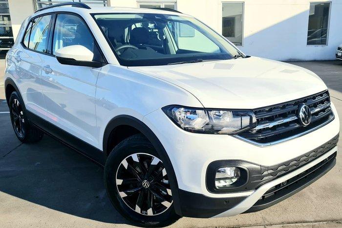 2021 Volkswagen T-Cross 85TSI Life C1 MY21 White