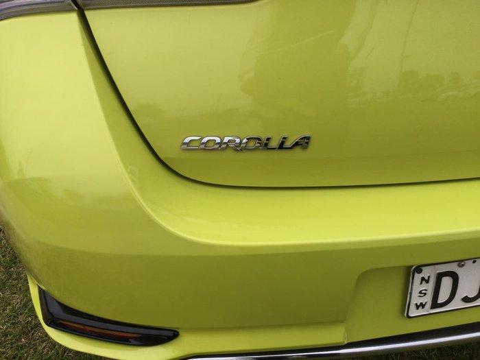 2016 Toyota Corolla Ascent Sport ZRE182R Yellow