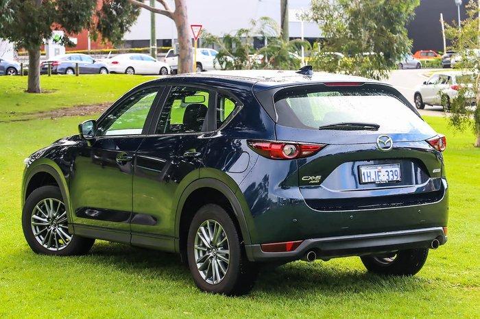 2017 Mazda CX-5 Maxx Sport KE Series 2 AWD Blue