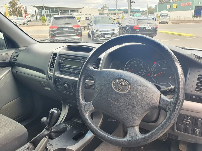 2006 Toyota Landcruiser Prado GX Limited KZJ120R 4X4 Constant White