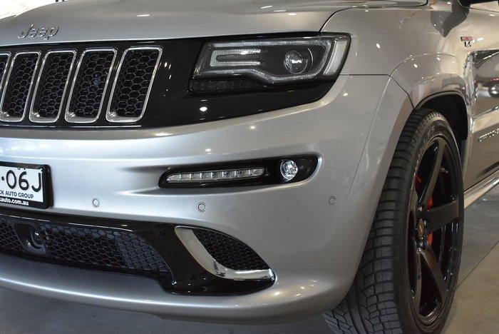 2016 Jeep Grand Cherokee SRT WK MY17 4X4 On Demand Silver