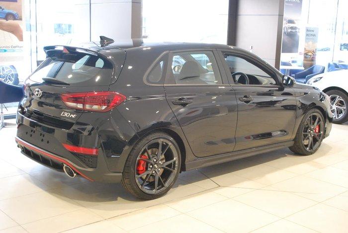 2021 Hyundai i30 N PDe.V4 MY22 Black