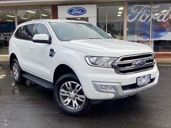 2016 Ford Everest Trend UA 4X4 Dual Range White