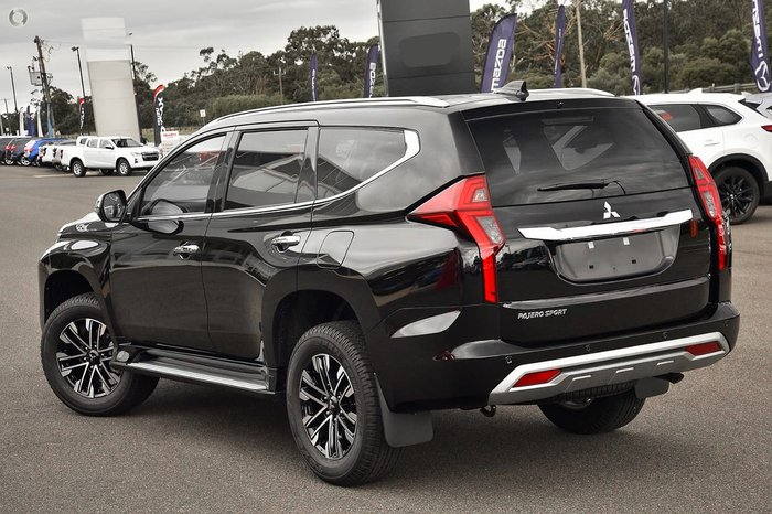 2021 Mitsubishi Pajero Sport GLS QF MY21 4X4 Dual Range Black