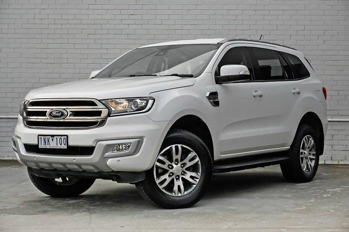 2018 Ford Everest Trend UA MY18 4X4 Dual Range White