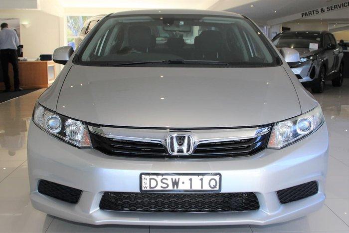 2014 Honda Civic VTi-L 9th Gen Ser II MY14 Silver