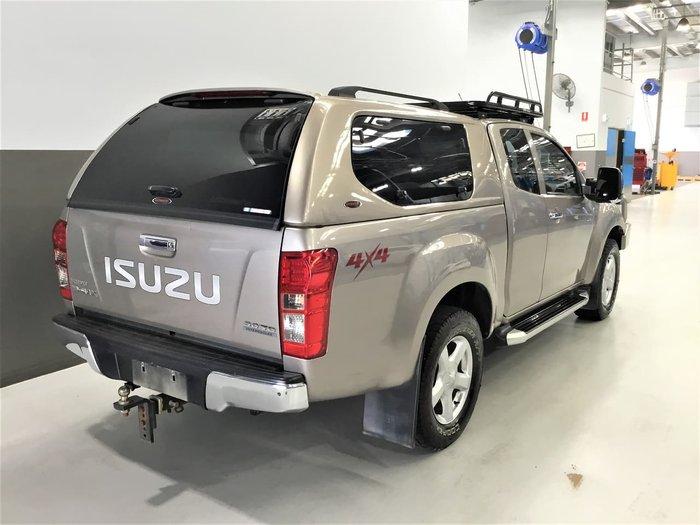 2013 Isuzu D-MAX LS-U MY12 4X4 Dual Range Gold