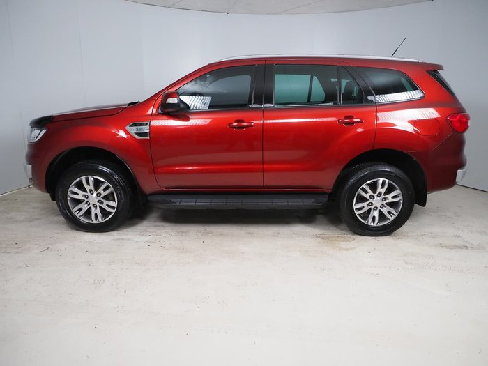 2017 Ford Everest Trend UA 4X4 Dual Range Red