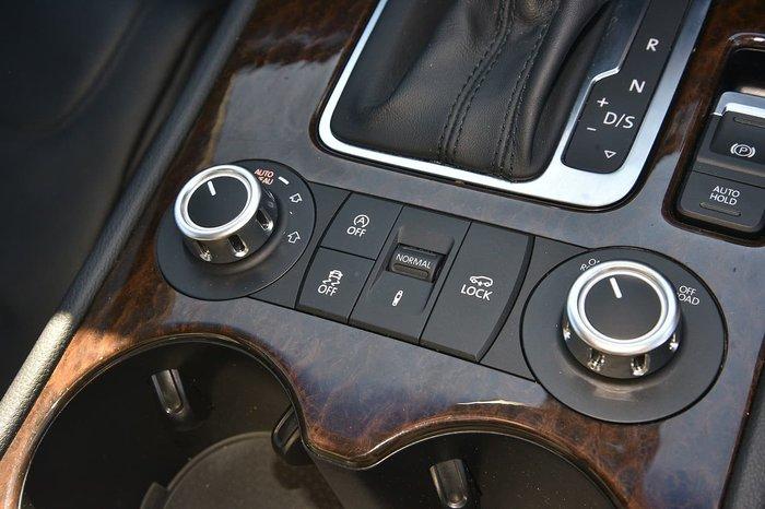 2014 VOLKSWAGEN TOUAREG V6 TDI 7P Silver