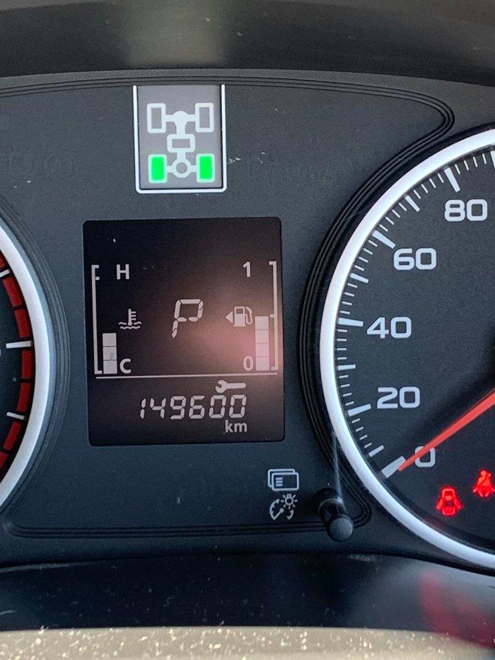 2015 Mitsubishi Triton Exceed MQ MY16 4X4 Dual Range Silver