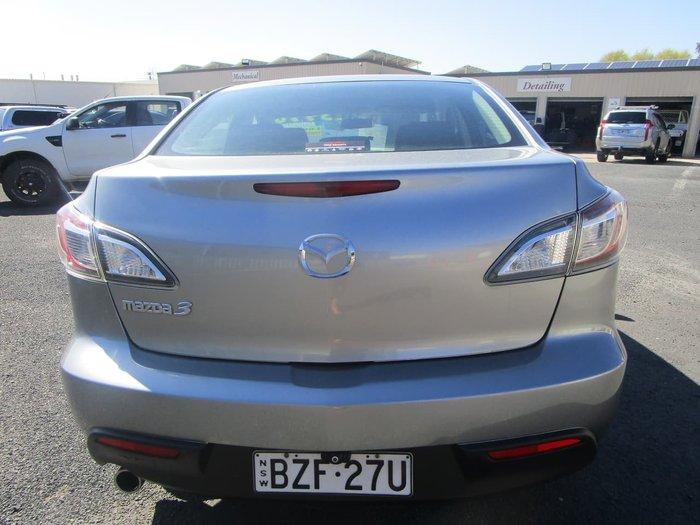 2011 Mazda 3 Neo BL Series 1 MY10 Silver