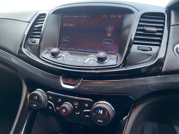 2015 Holden Ute SV6 VF Series II MY16 Black
