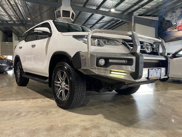 2017 Toyota Fortuner GXL GUN156R 4X4 Dual Range White
