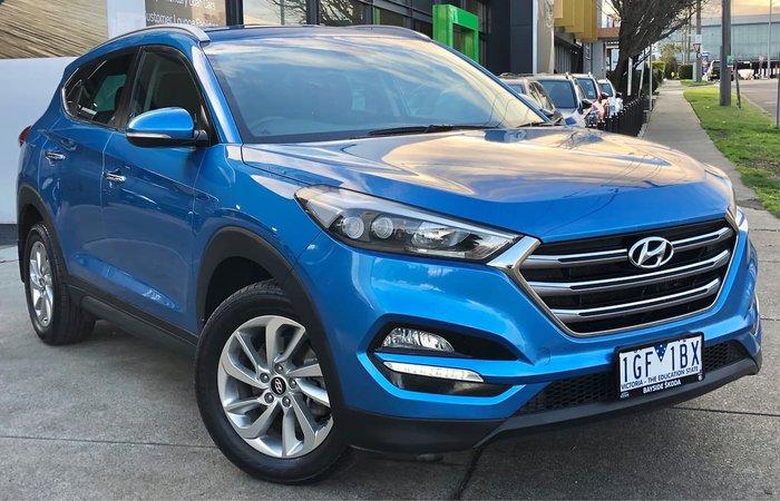 2015 Hyundai Tucson Elite TLe AWD Blue