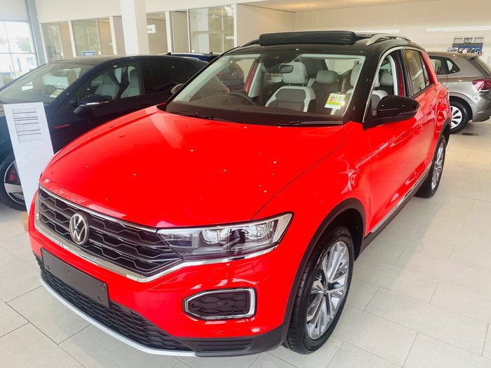 2021 Volkswagen T-Roc 110TSI Style A1 MY21 Red
