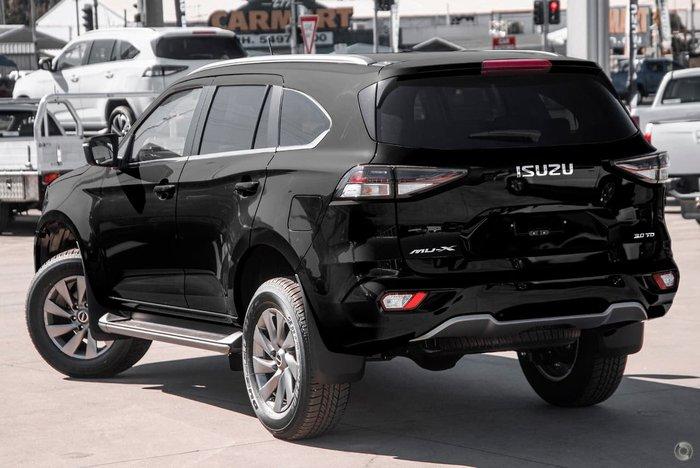 2021 Isuzu MU-X LS-U MY21 4X4 Dual Range Black