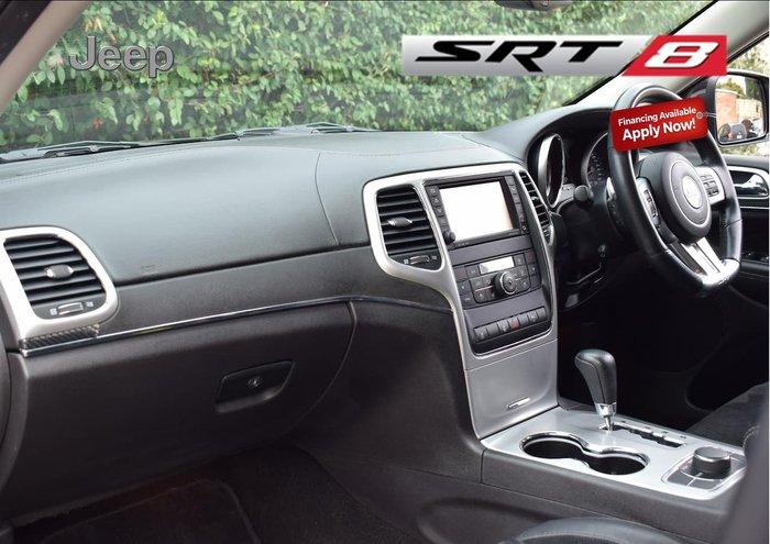 2012 Jeep Grand Cherokee SRT-8 WK MY13 4X4 On Demand Black