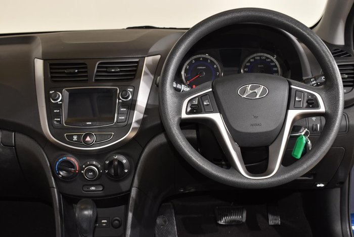 2017 Hyundai Accent Active RB4 MY17 Dazzling Blue