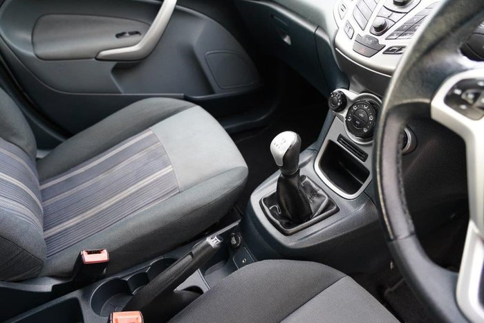 2008 Ford Fiesta LX WQ Silver