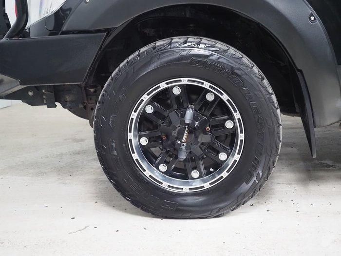 2013 Ford Ranger XLT PX 4X4 Dual Range Black