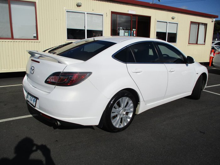 2009 Mazda 6 Classic GH Series 1 MY09 Crystal White Pearl