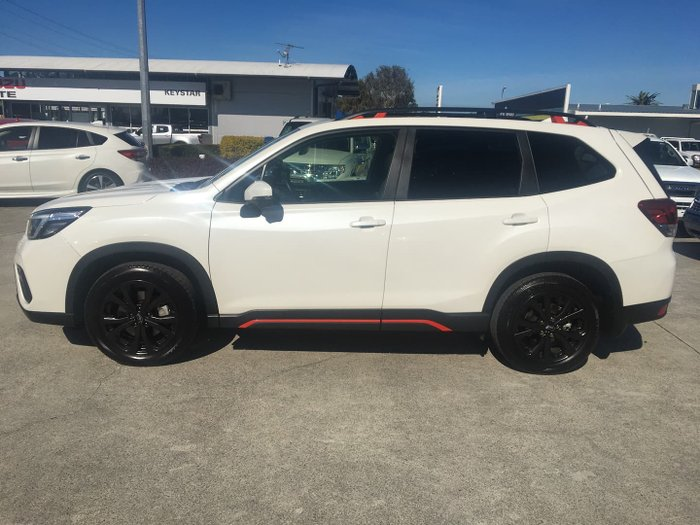 2021 Subaru Forester 2.5i Sport S5 MY21 AWD Crystal White