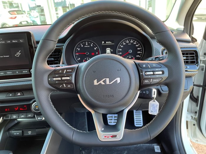 2021 Kia Rio GT-Line YB MY22 White