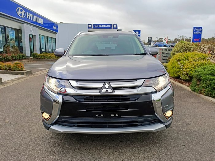 2017 Mitsubishi Outlander LS Safety Pack ZK MY18 AWD Grey