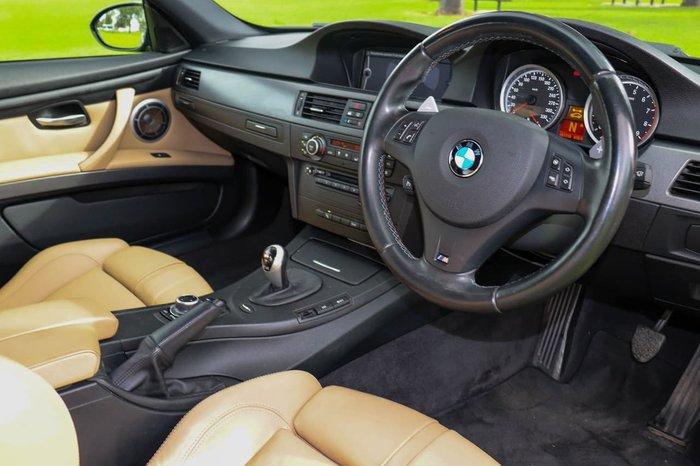 2013 BMW M3 E92 MY13.5 Black