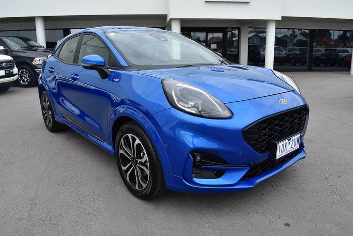 2020 Ford Puma ST-Line JK MY20.75 Blue