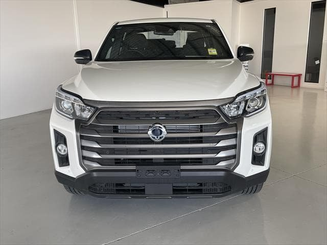 2021 SsangYong Musso ELX Q215 MY21 4X4 Dual Range Grand White