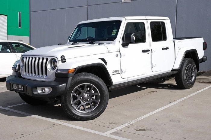 2021 Jeep Gladiator Overland JT MY21 4X4 On Demand White