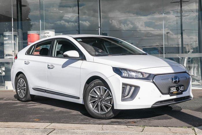 2020 Hyundai IONIQ electric Premium AE.V4 MY21 White