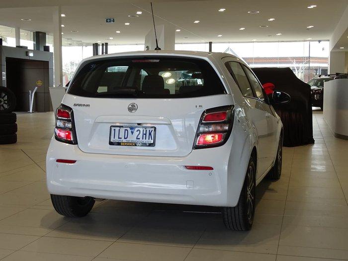 2017 Holden Barina LS TM MY17 White