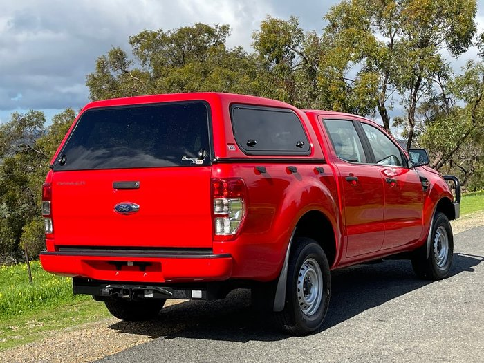 2018 Ford Ranger XL PX MkII MY18 4X4 Dual Range Red