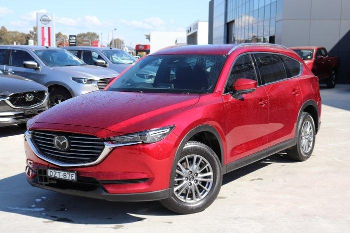 2018 Mazda CX-8 Sport KG Series Red