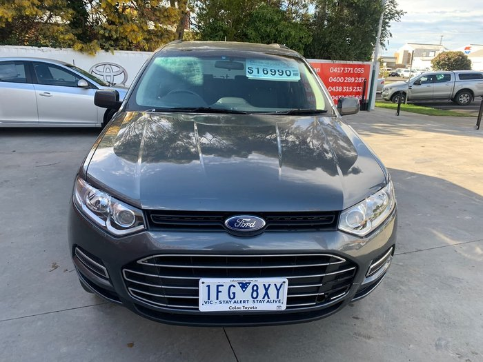 2013 Ford Territory TX SZ Grey