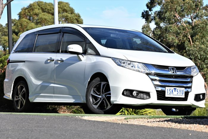 2015 Honda Odyssey VTi-L 5th Gen MY16 White Orchid