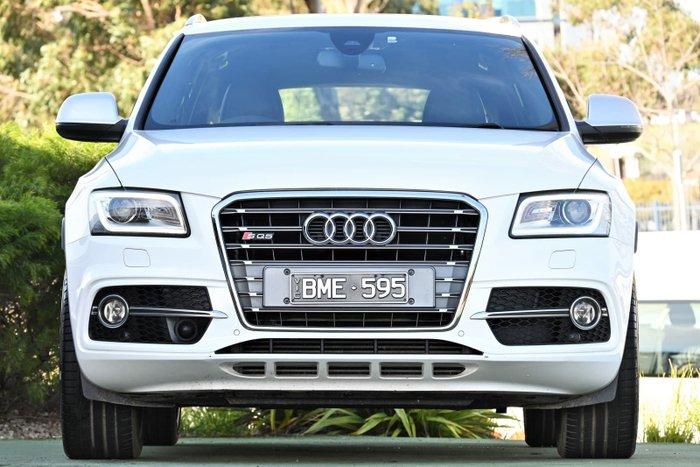 2013 Audi SQ5 TDI 8R MY14 Four Wheel Drive White