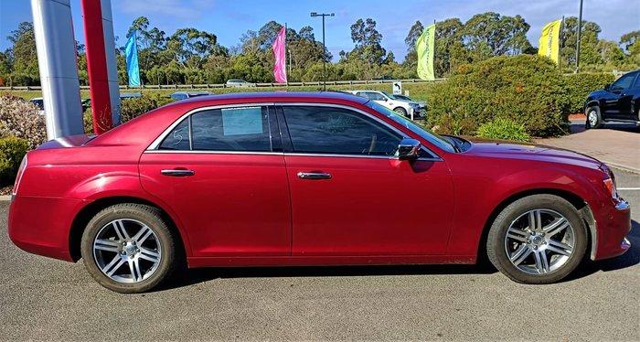 2012 Chrysler 300 C LX MY12 Red