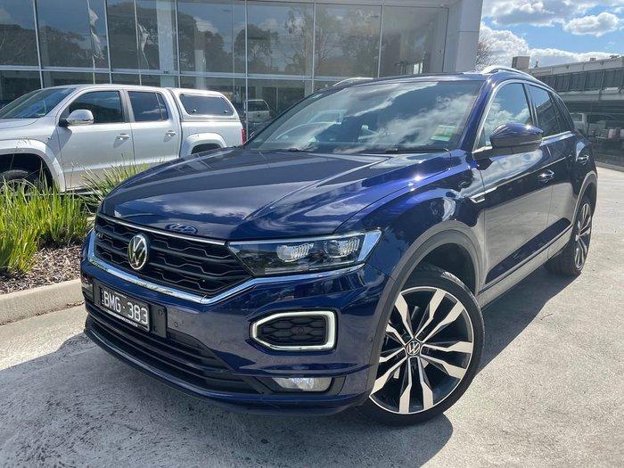 2020 VOLKSWAGEN T-ROC 140TSI Sport A1 Blue