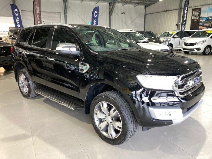 2018 Ford Everest Titanium UA MY18 4X4 Dual Range Shadow Black