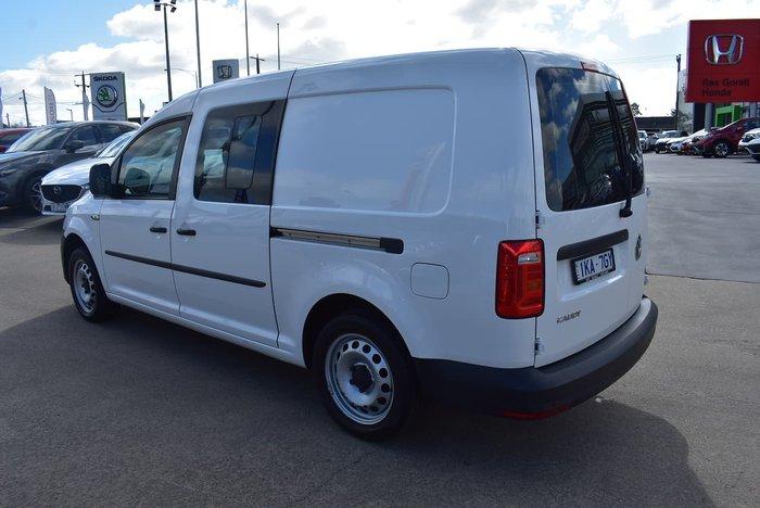 2017 Volkswagen Caddy TSI220 2KN MY18 White